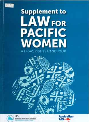 Law for Pacific Women Supplement